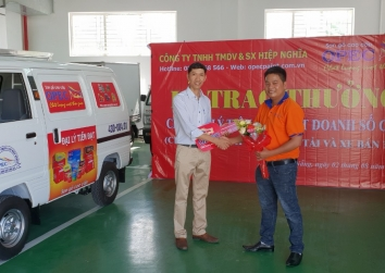 Lễ Trao Thưởng Xe Suzuki Blind Van - Chương Trình Đầu Tư Xe Tải Và Xe Bán Tải